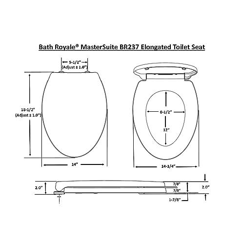 Superb Buy Bath Royale Br237 00 Mastersuite Elongated Toilet Seat Forskolin Free Trial Chair Design Images Forskolin Free Trialorg